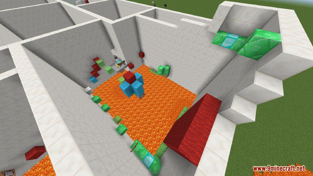 Sprint Lava Parkour Map Screenshots 4