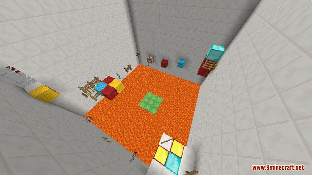 Sprint Lava Parkour Map Screenshots 5