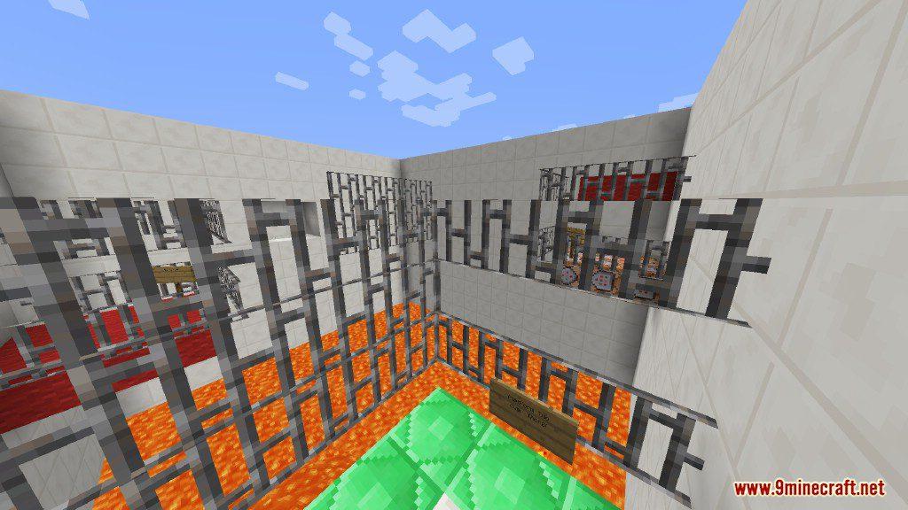 Sprint Lava Parkour Map Screenshots 6