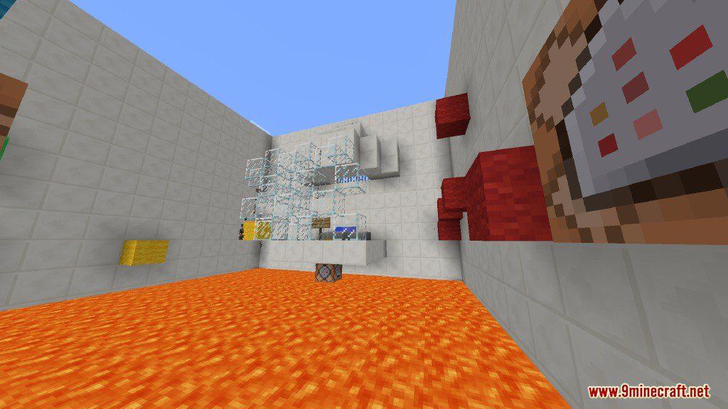 Sprint Lava Parkour Map Screenshots 7