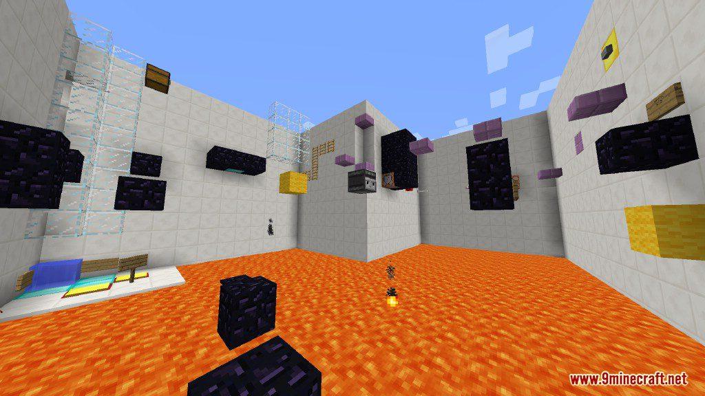 Sprint Lava Parkour Map Screenshots 8