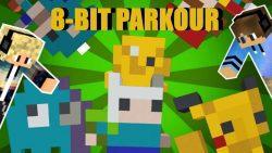 8-Bit Parkour Map Thumbnail