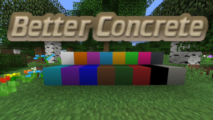 Better Concrete Resource Pack