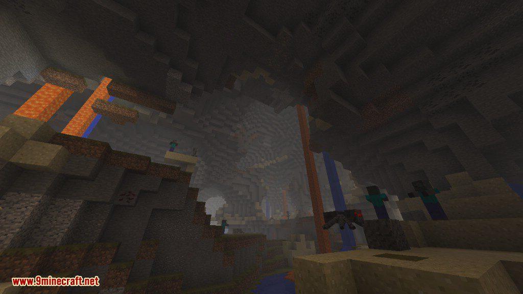 Cavern II Mod Features 12
