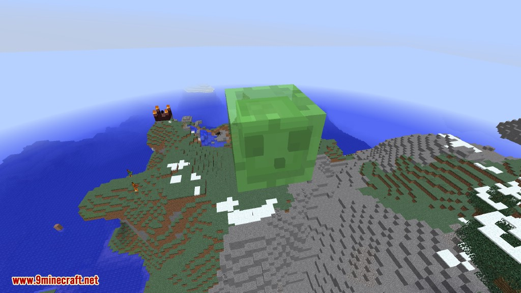 Creeper Lucky Block Mod Screenshots 22