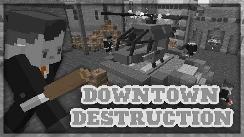 Downtown Destruction Map Thumbnail