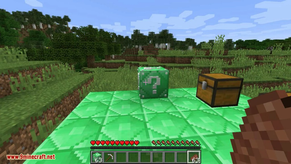How To Make A Lucky Block In Minecraft