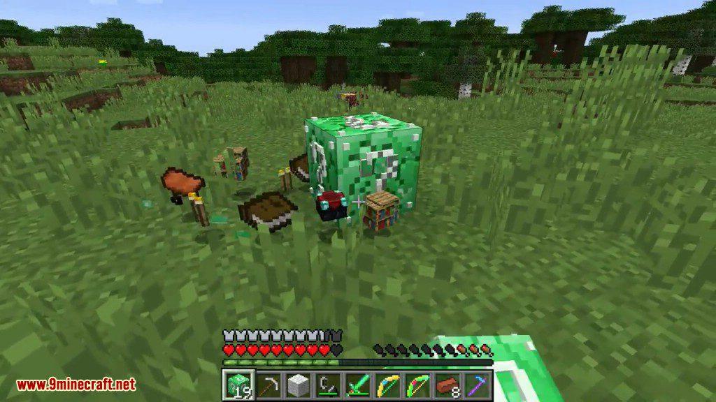 Emerald Lucky Block Mod Screenshots 11