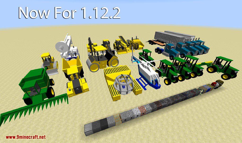Heavy Machinery Mod Screenshots 1