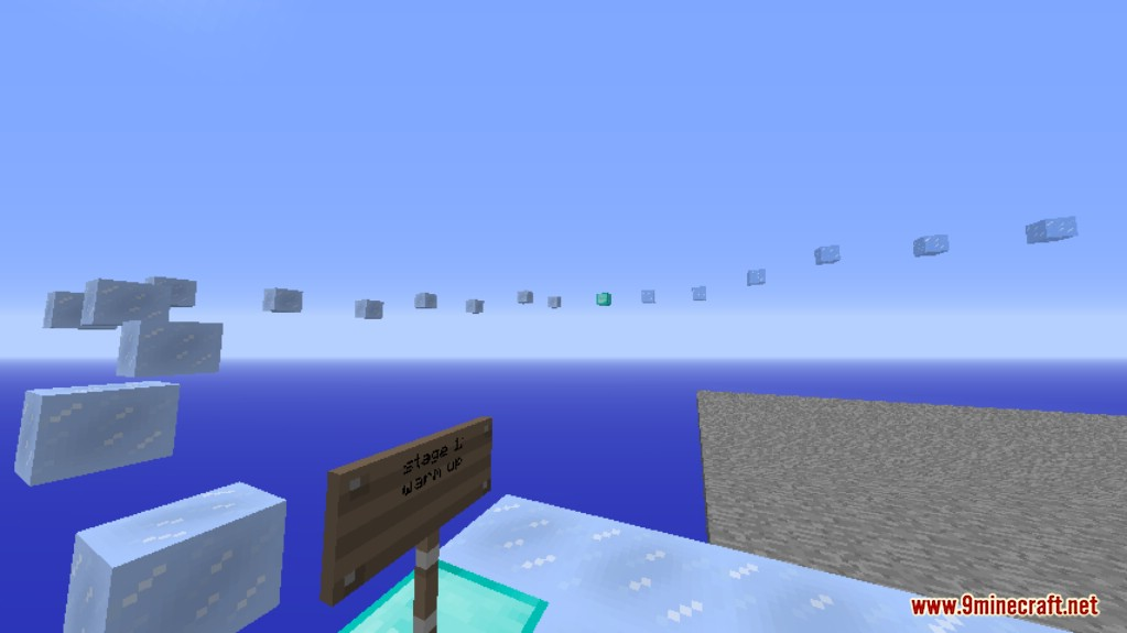 Ice Parkour Map Screenshots (4)