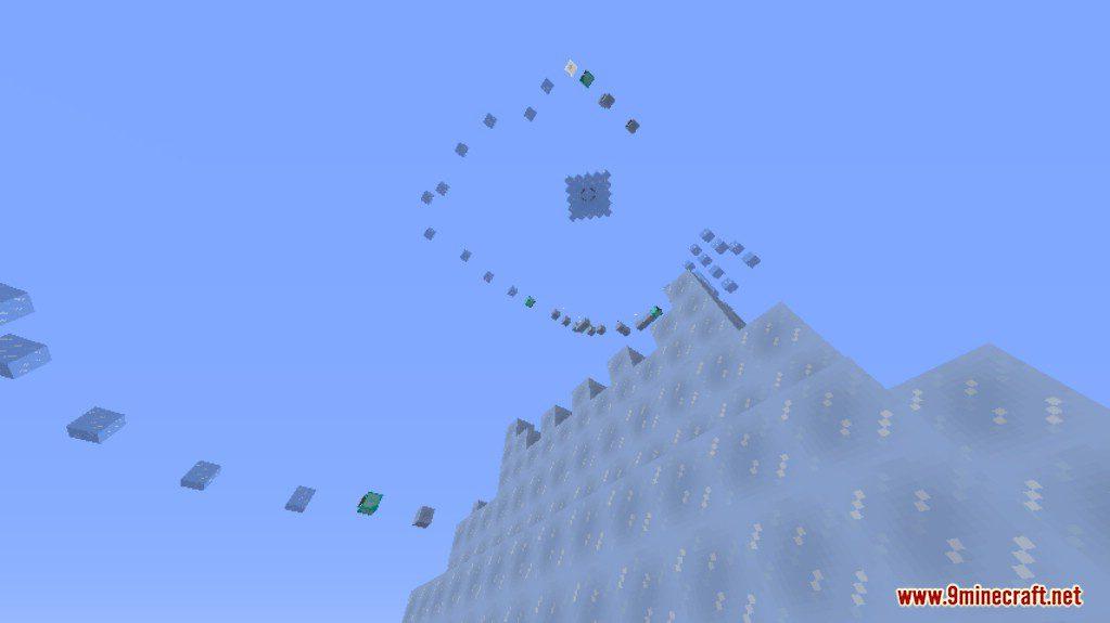 Ice Parkour Map Screenshots (5)