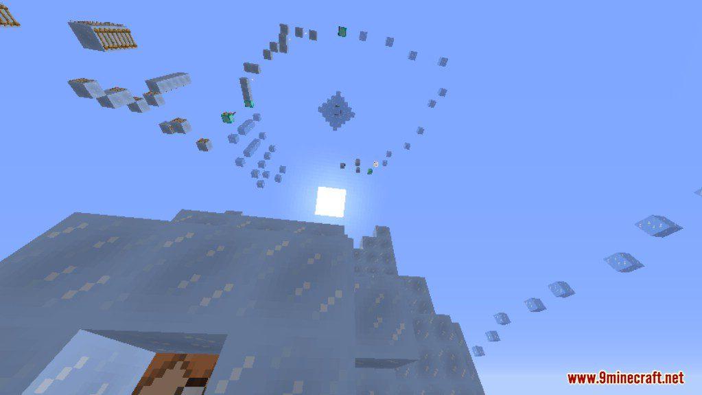 Ice Parkour Map Screenshots (6)