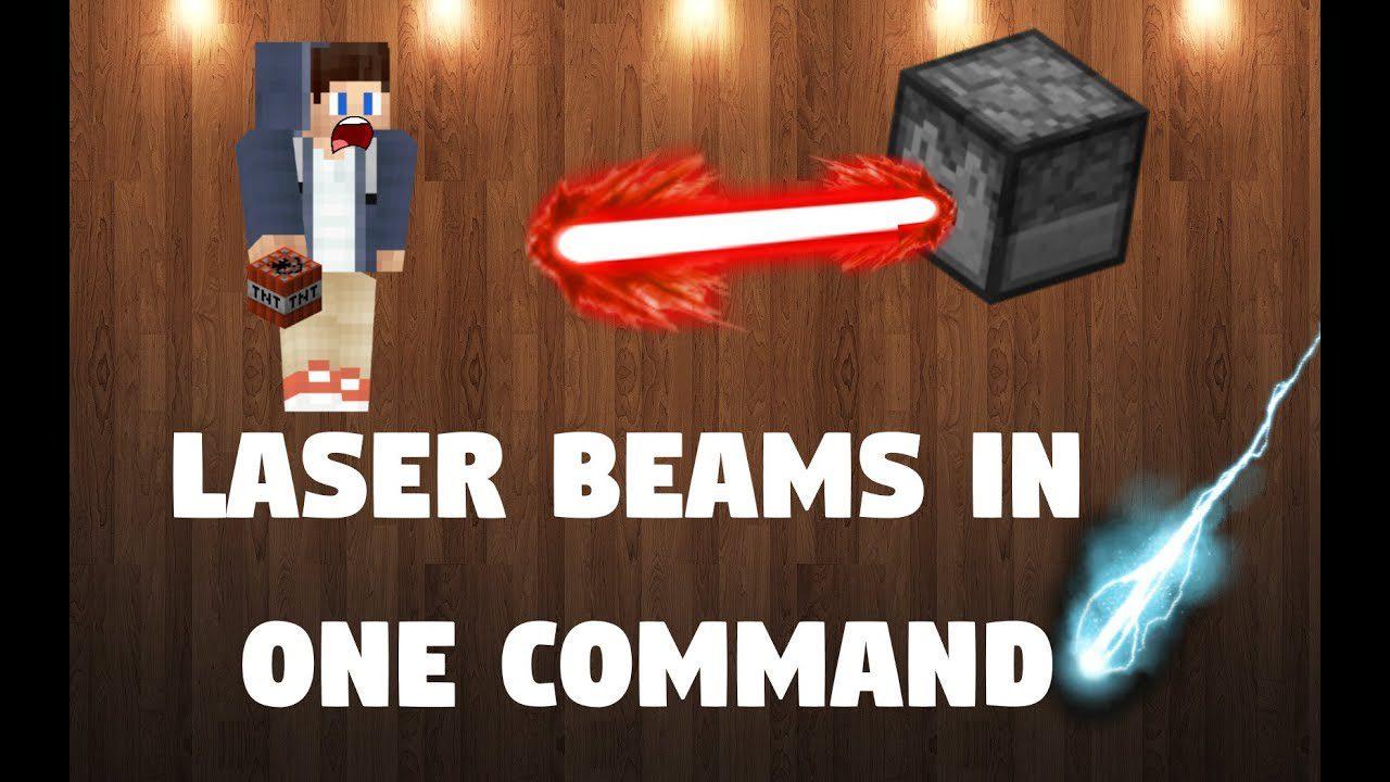 Laser Beams Command Block