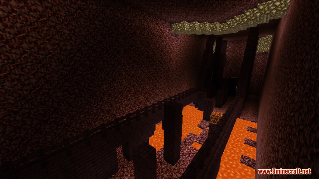Lava and Ice Parkour Map Screenshots 10