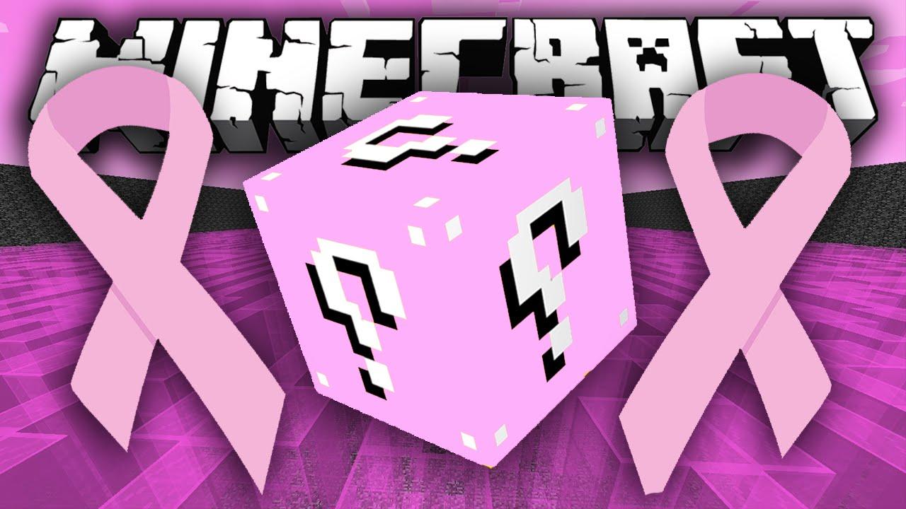 Lucky Block Pink Mod 1.12.2/1.11.2