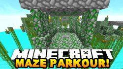 Maze Parkour Map Thumbnail