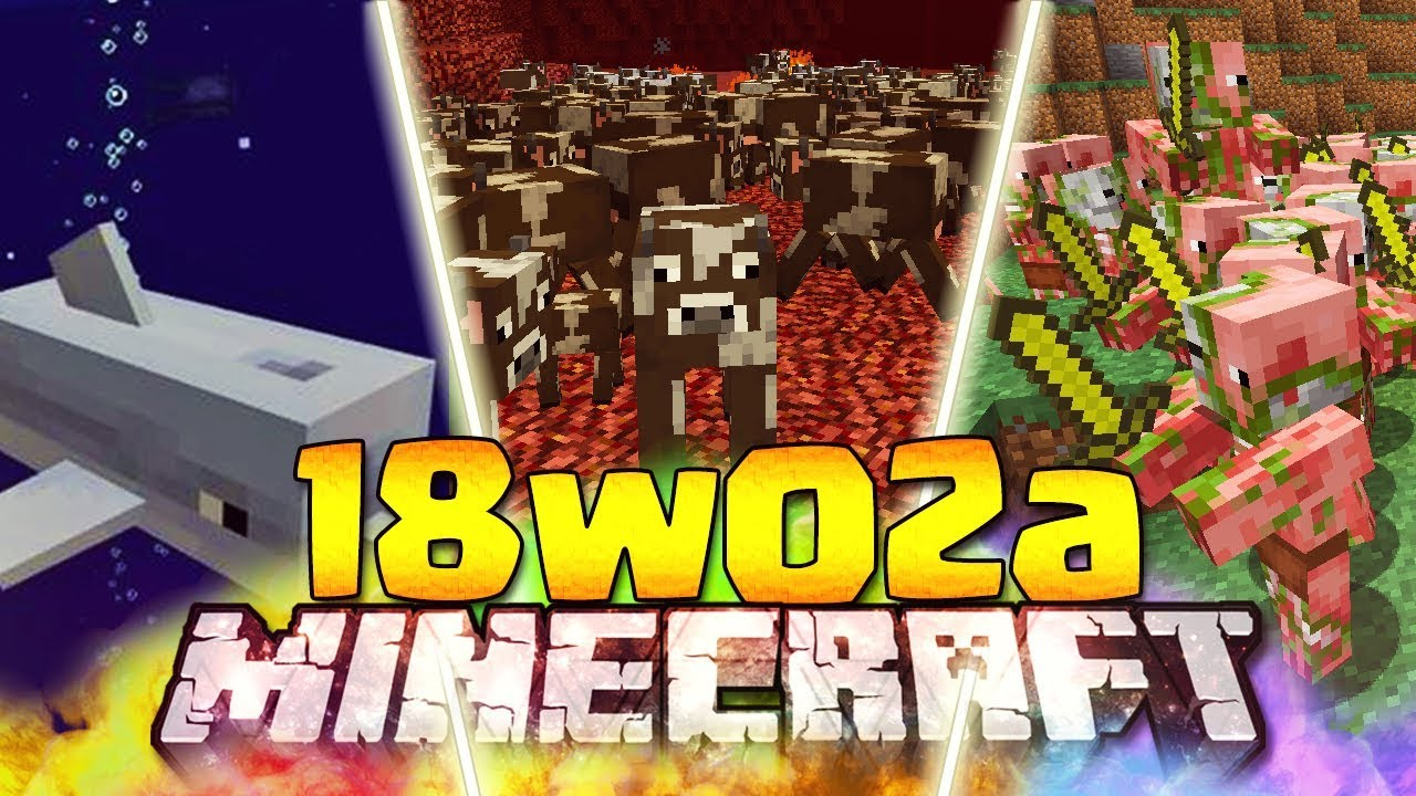 Minecraft 1.13 Snapshot 18w02a Download