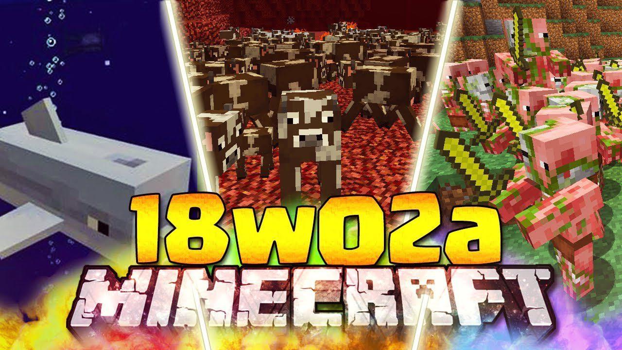 Minecraft 1.13 Snapshot 18w02a