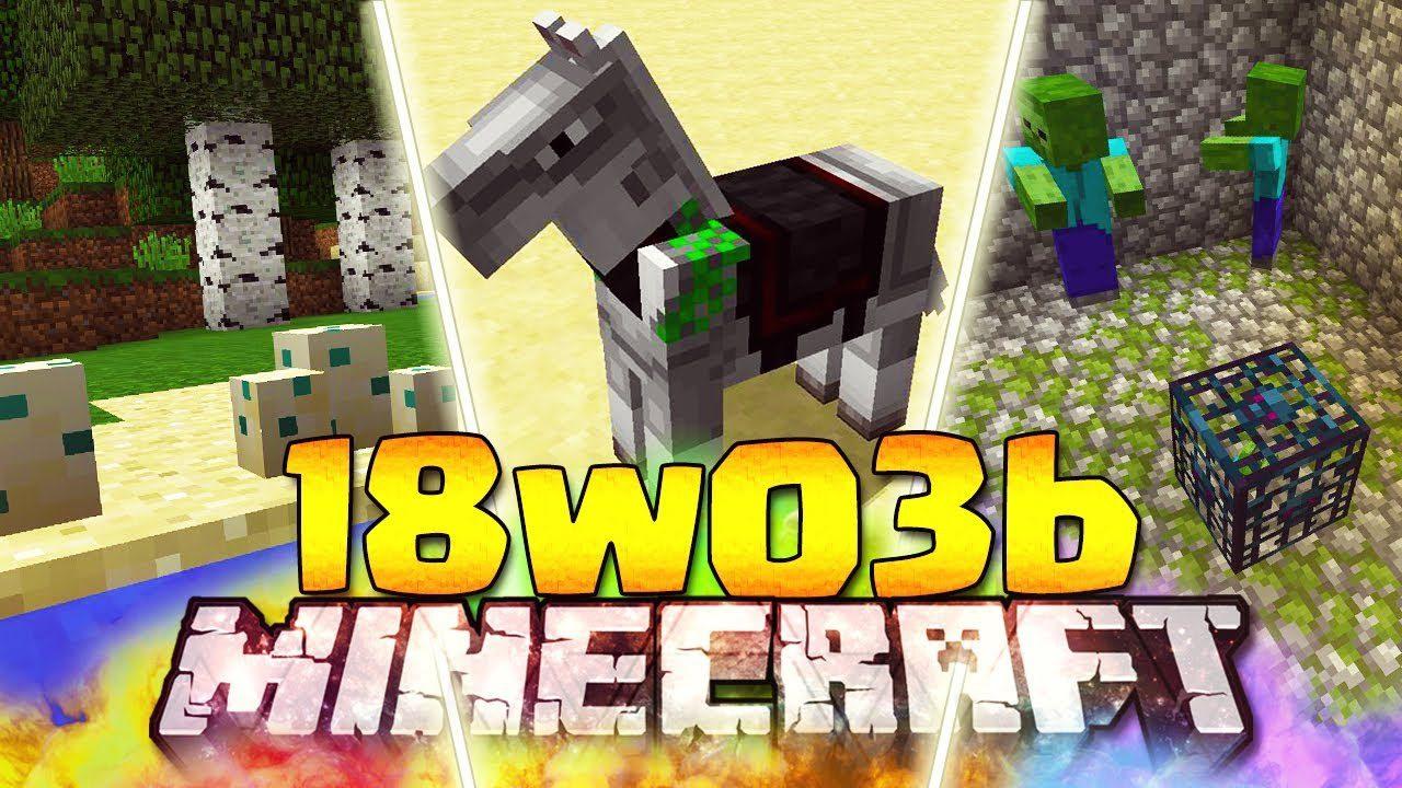 Minecraft 1.13 Snapshot 18w03b
