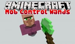 Mob Control Wands Mod