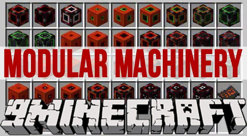 Modular Machinery Mod