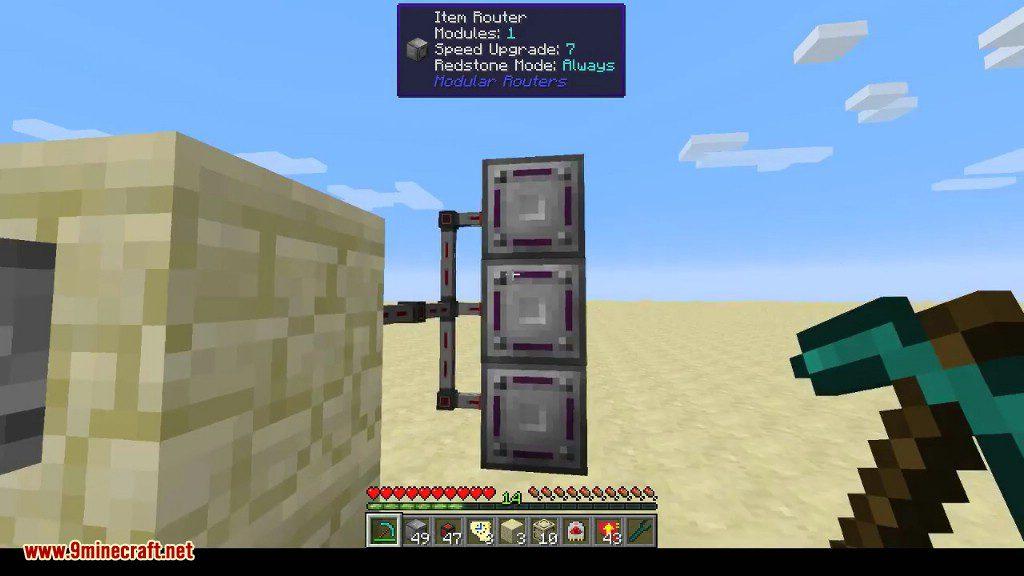 Modular Routers Mod Screenshots 7
