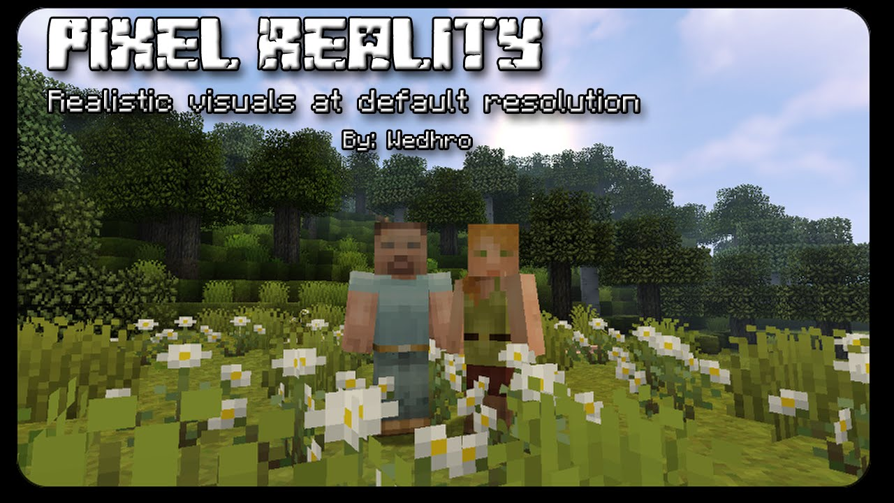 Pixel Reality Resource Pack