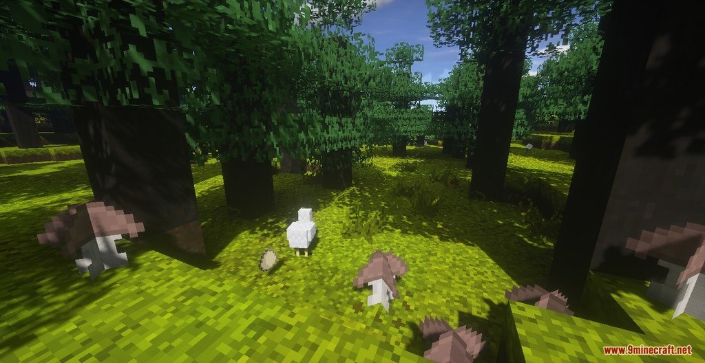 RangerCraft Summer Day Resource Pack Screenshots 5