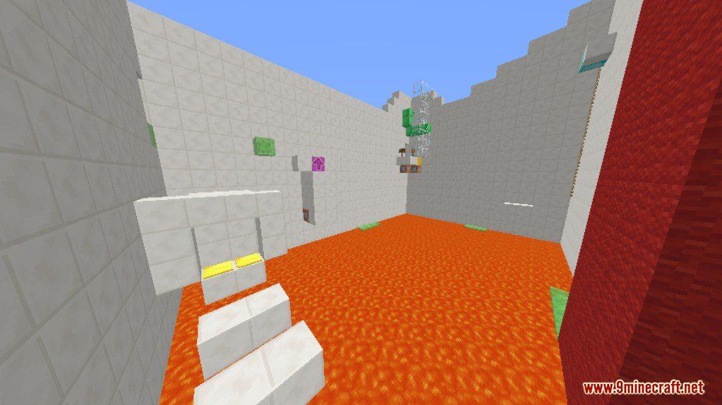Sprint Lava Parkour 4 Map Screenshots 7