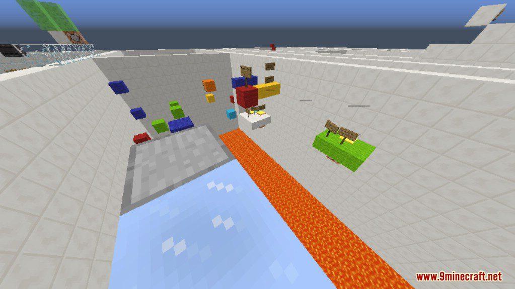 Sprint Lava Parkour 4 Map Screenshots 9