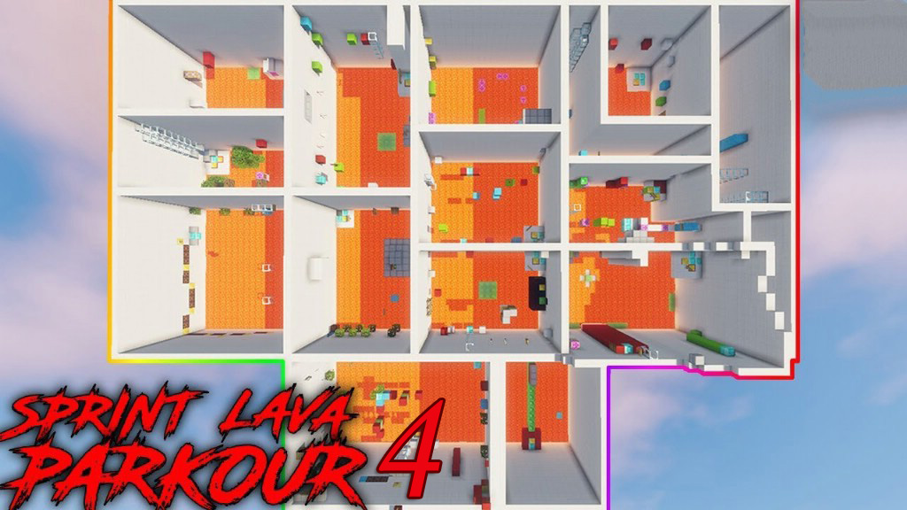 Sprint Lava Parkour 4 Map Thumbnail