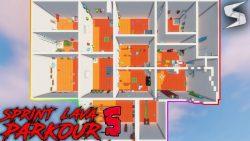 Sprint Lava Parkour 5 Map Thumbnail