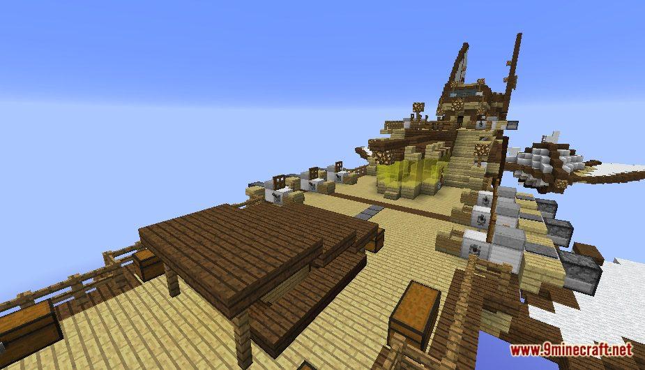 Steampunk Airship Map Screenshots 10