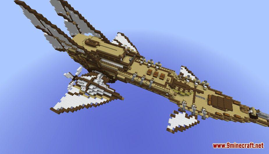 Steampunk Airship Map Screenshots 6