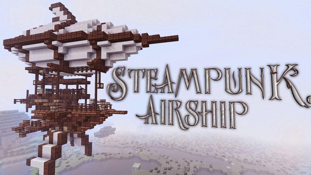Steampunk Airship Map Thumbnail