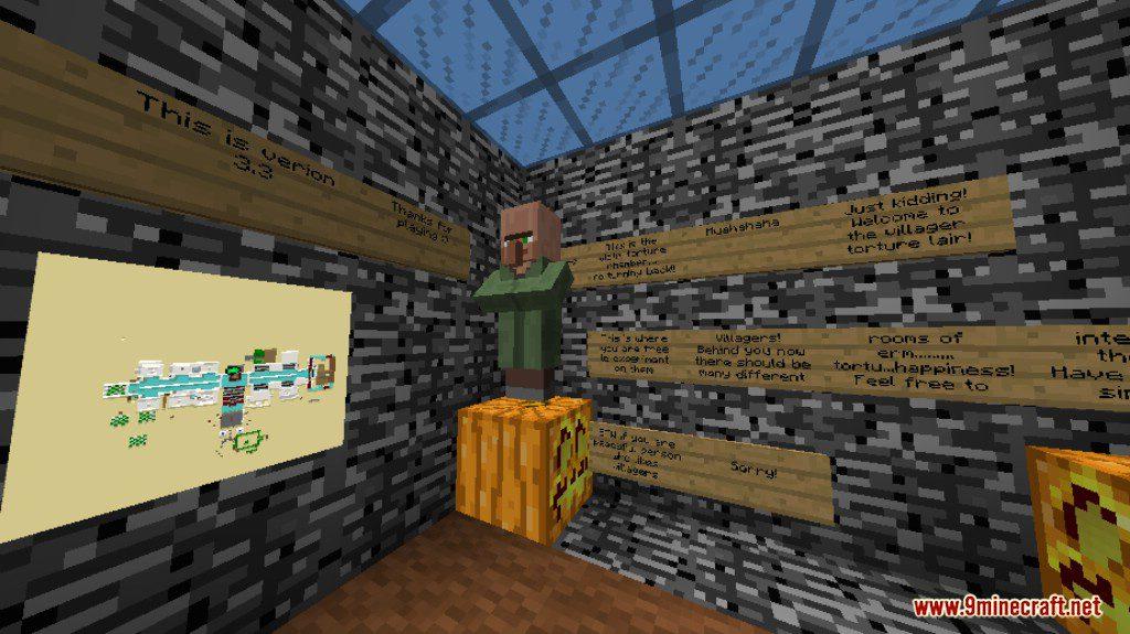 Villager Torture Map Screenshots 1