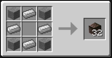 Chisel Mod Crafting Recipes 11