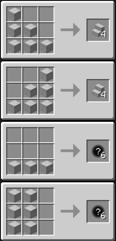 Chisel Mod Crafting Recipes 6