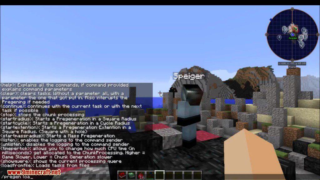 Chunk Pregenerator Mod Screenshots 6