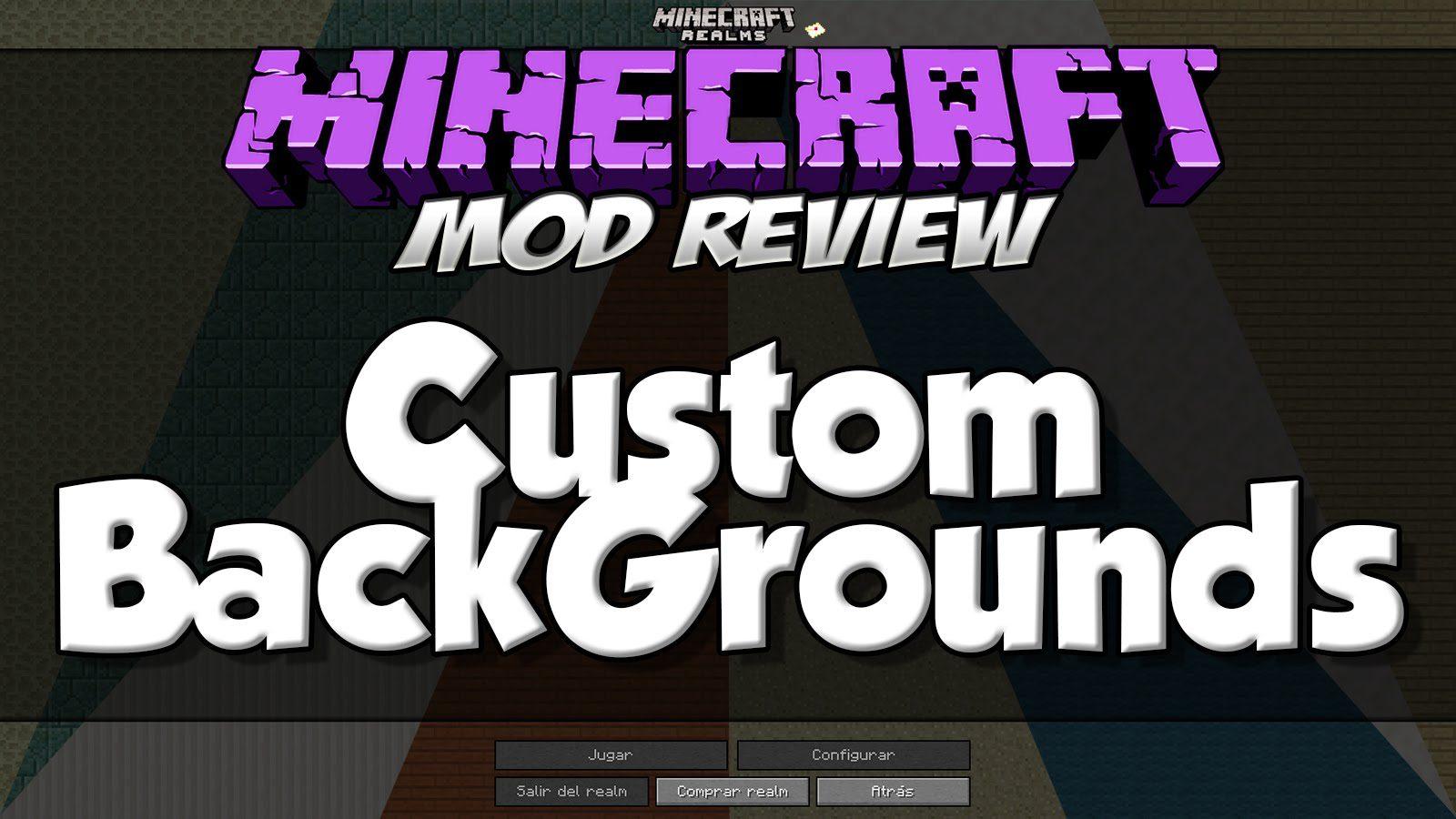 Custom Backgrounds Mod