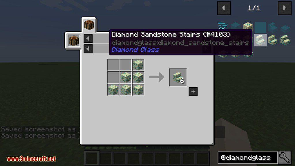 Diamond Glass Mod Crafting Recipes 6