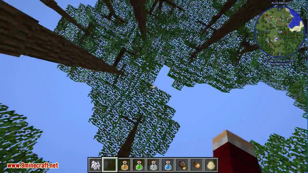 Dynamic Trees Mod 1 12 2/1 11 2 (Change the Natural Growth