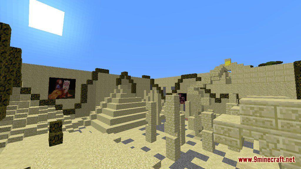 Minecraft Egypt Map.Find The Button Egypt Map 1 12 2 1 12 For Minecraft 9minecraft Net