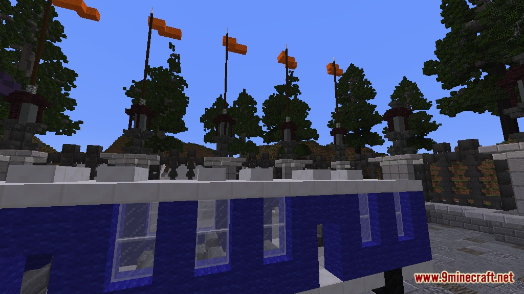 minecraft pe theme park servers