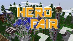 HeroFair Amusement Park Map Thumbnail