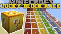 Lucky Block Races Map Thumbnail