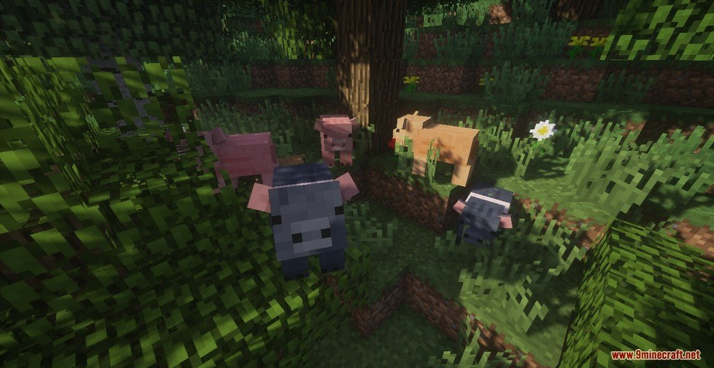 Mickey Joe's Relatively Improved Default Resource Pack Screenshots 1