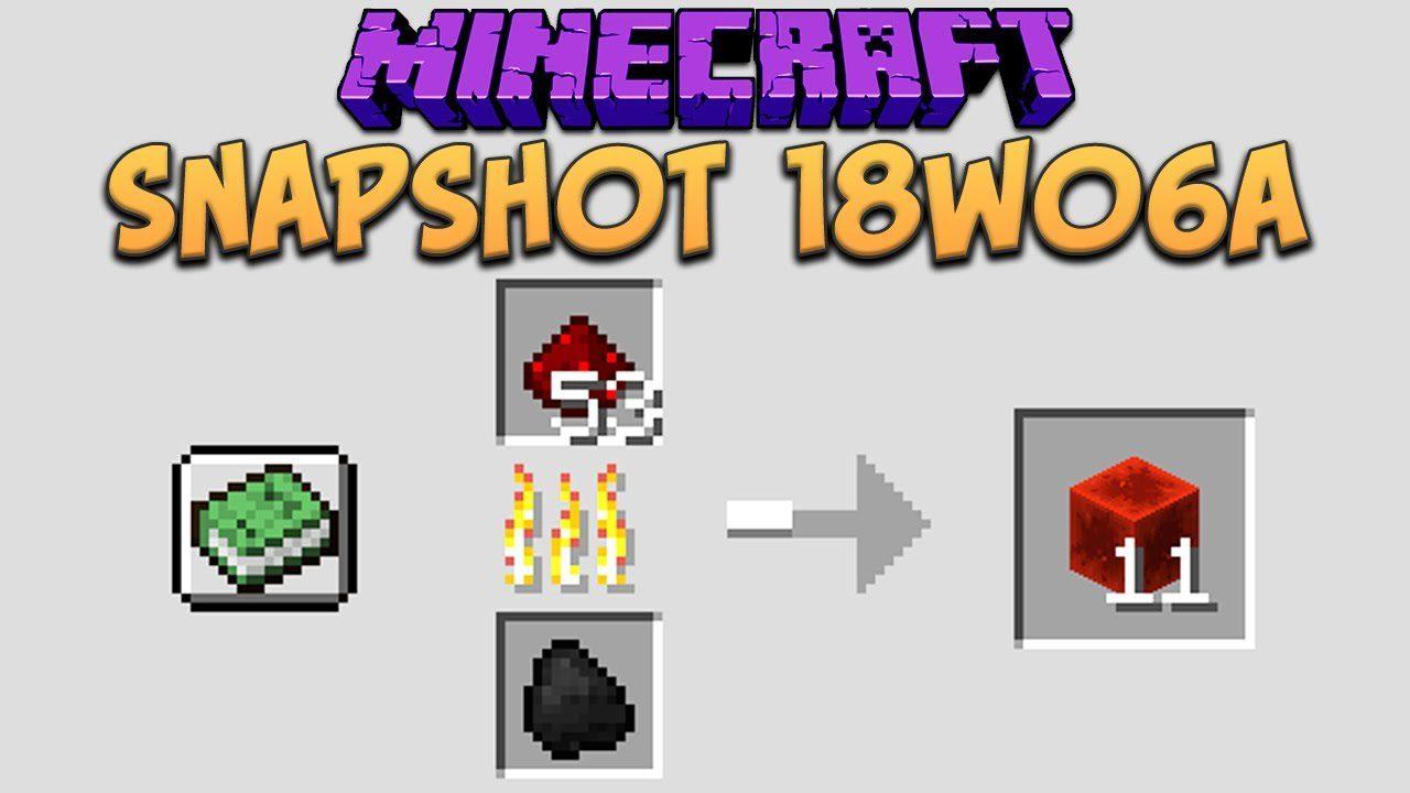 Minecraft 1.13 Snapshot 18w06a