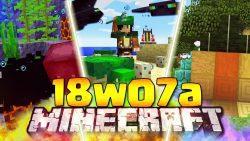 Minecraft 1.13 Snapshot 18w07a