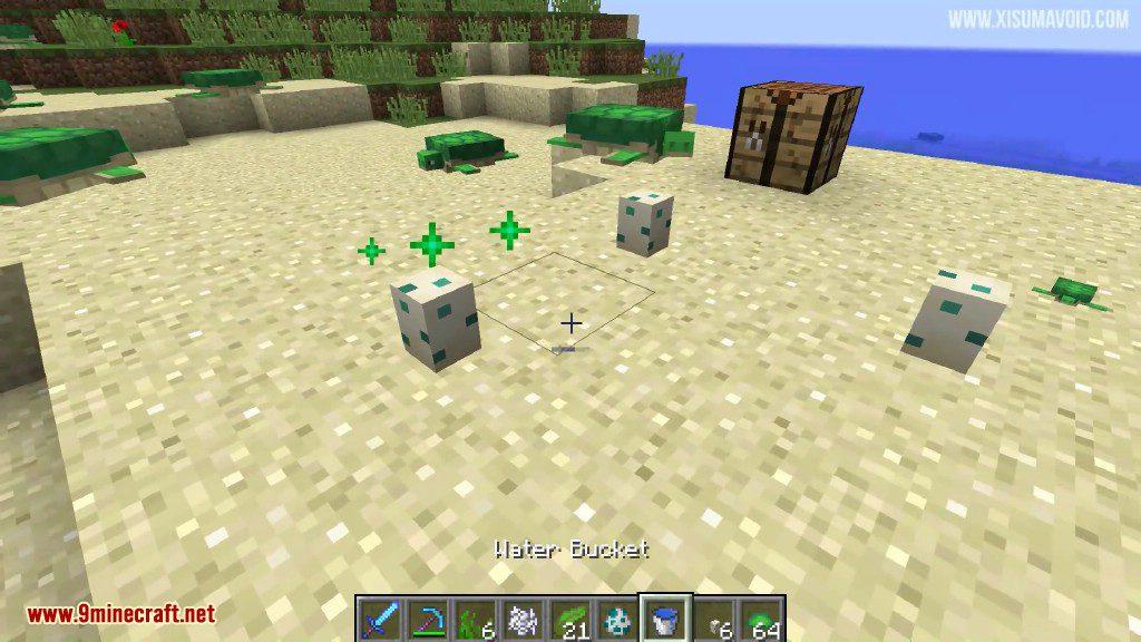 Minecraft 1 13 Snapshot 18w07a (Turtles, Phantoms, Tridents